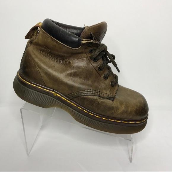 Dr. Martens Shoes - Dr. Martens Doc Martens Air wair Brown Boot 9